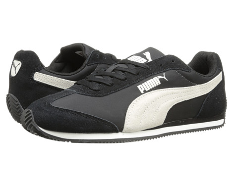 PUMA - Rio Speed (Black/White) Women's Shoes