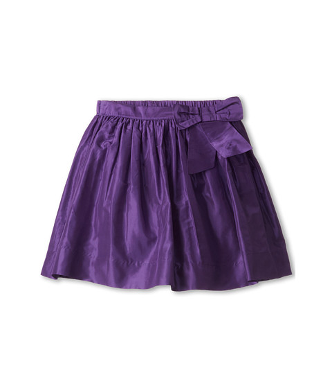 Oscar de la Renta Childrenswear - Taffeta Party Skirt w/ Bow (Toddler/Little Kids/Big Kids) (Violet) Girl