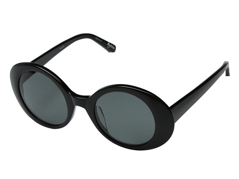 Elizabeth and James - Boylston (Shiny Black/Smoke Mono Polarized) Fashion Sunglasses