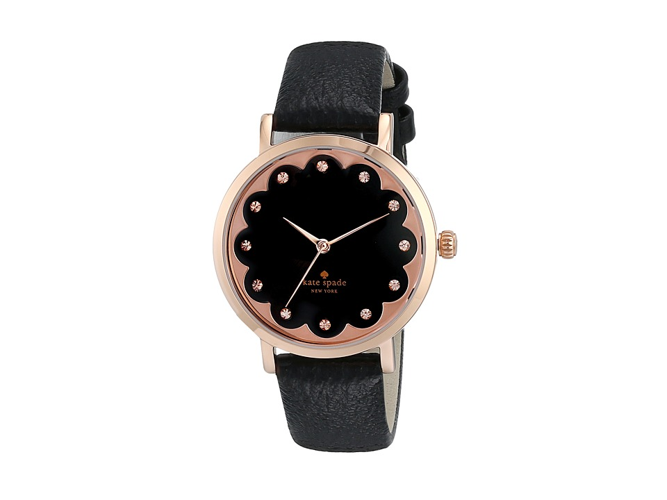 Kate Spade New York - Metro - 1YRU0583 (Black) Watches