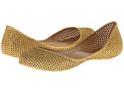 Mel by Melissa - Mel Amora (Gold Glitter) Women's Slip on Shoes