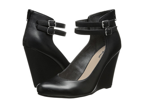Seychelles - Here's To You (Black) Women's Wedge Shoes