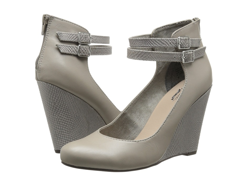 Seychelles - Here's To You (Light Grey) Women's Wedge Shoes