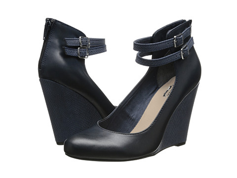 Seychelles - Here's To You (Navy) Women's Wedge Shoes