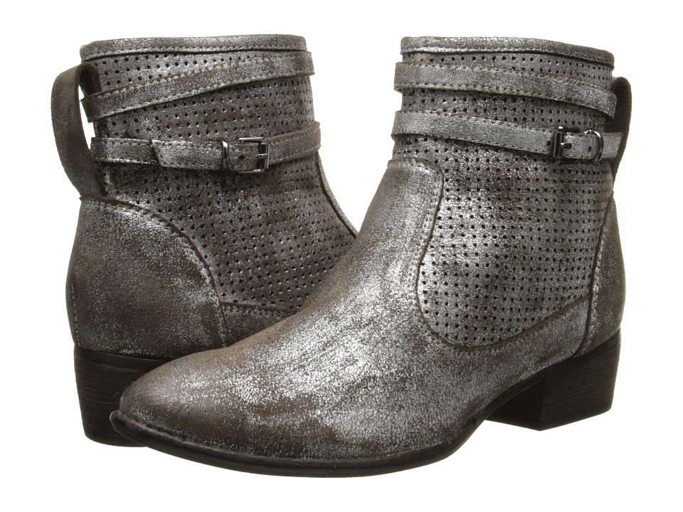 Seychelles Sanctuary (Pewter Metallic Suede) Women