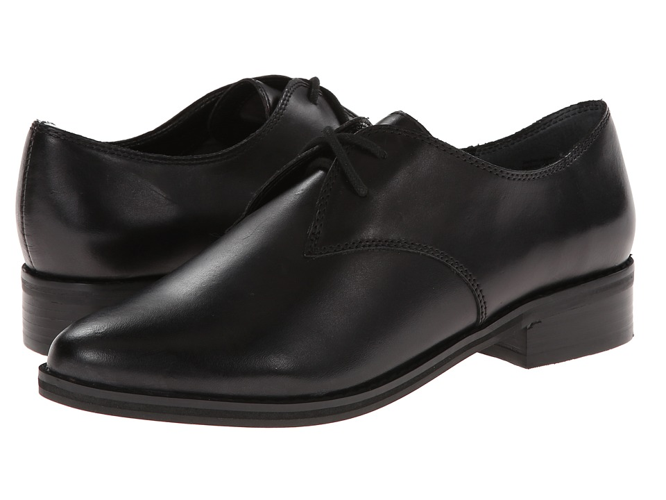 Seychelles - Welcome Back (Black Leather) Women's Plain Toe Shoes