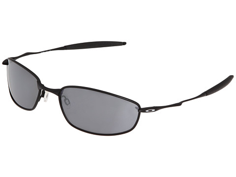 Oakley - Whisker (Black/Black Iridium) Sport Sunglasses