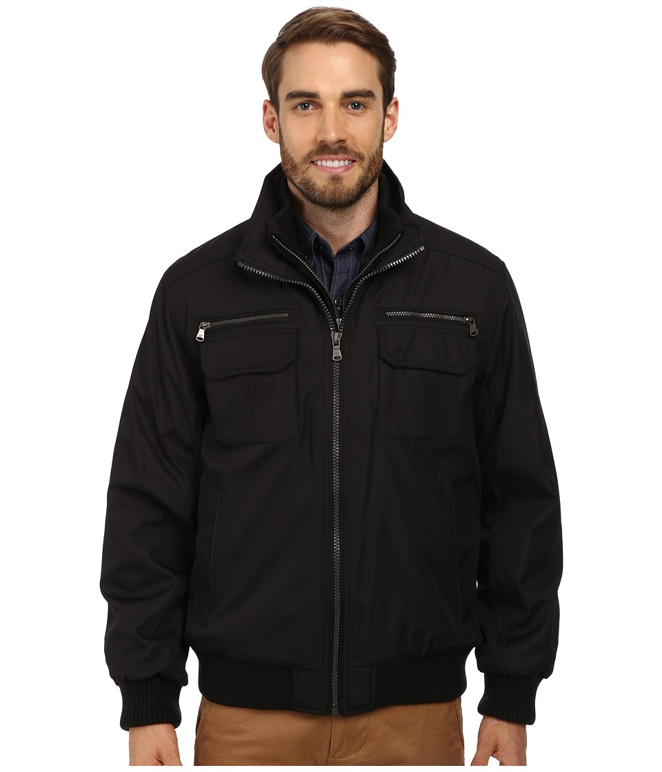 Calvin Klein - Ripstop Performance Bomber Jacket CM402267 (Black) Men's Coat
