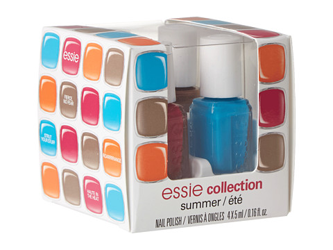 Essie - Limited Edition Mini Cube (Fierce No Fear/Strut Your Stuff/Haute In The Heat/Roarrrraange) Fragrance