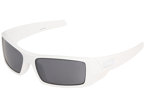 Oakley - GasCan (Polished White/Black Iridium) Sport Sunglasses