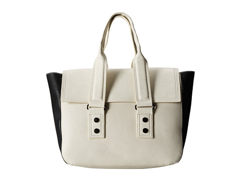 French Connection - Elite Tote (Eggshell Multi) Satchel Handbags