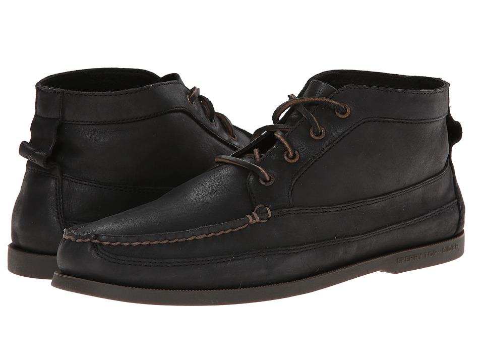 Sperry Top-Sider - A/O Boat Chukka (Black) Men