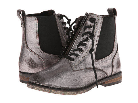 Naughty Monkey - London Calling (Pewter) Women's Zip Boots