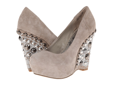 Naughty Monkey - Carnality (Taupe) Women's Shoes