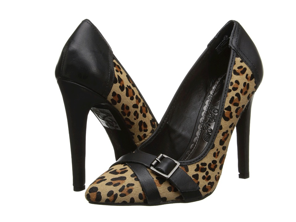 Naughty Monkey - Spellbound (Leopard) Women's Shoes