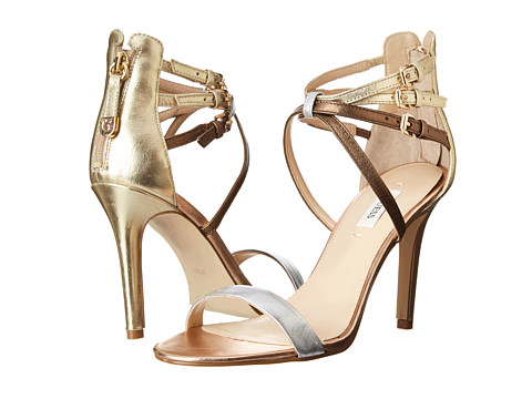 GUESS - Laella (Silver Multi Leather) High Heels