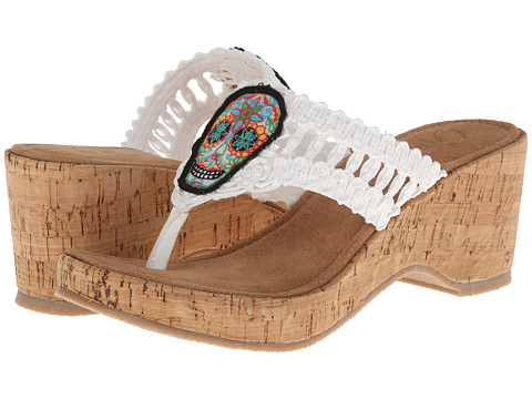 Grazie - Dios (White) Women's Sandals