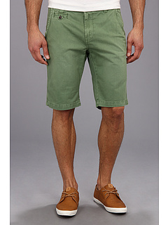 SALE! $14.7 - Save $34 on Seven7 Jeans Twill Flat Front Short (Green) Apparel - 70.00% OFF $49.00