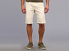 Seven7 Jeans - Twill Flat Front Short (Stone) - Apparel