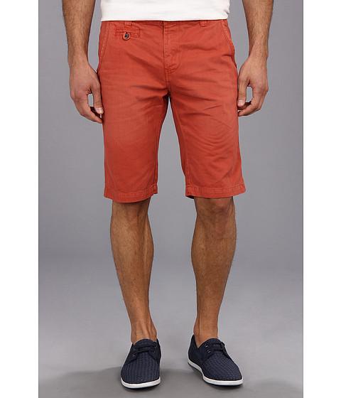 Seven7 Jeans - Twill Flat Front Short (Watermelon) Men