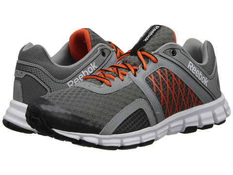 Reebok - SmoothFlex Flyers RS 2.0 (Rivet Grey/Flat Grey/Black/Flux Orange/White) Men