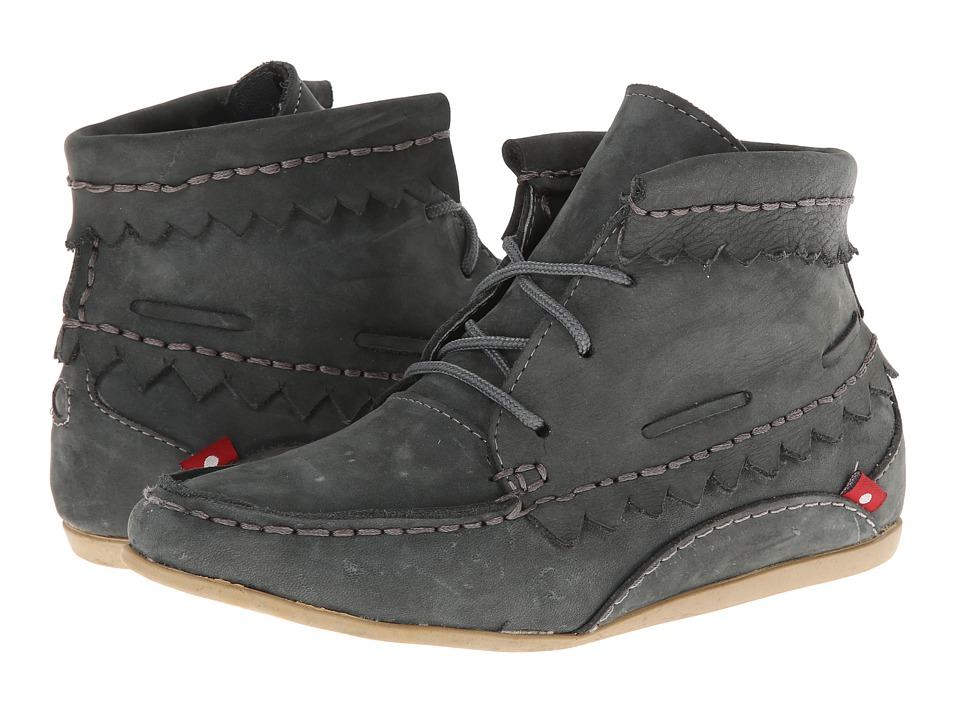 Oliberte Hirari (Dark Grey Nubuck) Women