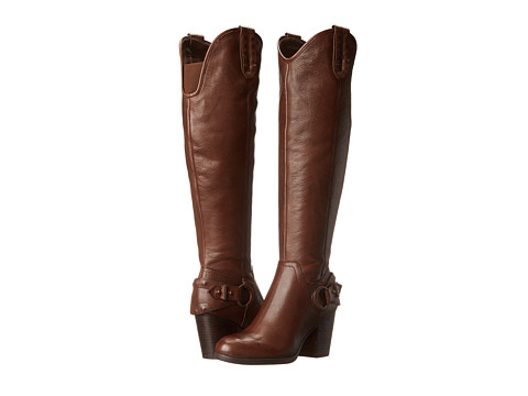 GUESS - Tabard (Dark Brown Leather) Women's Dress Zip Boots