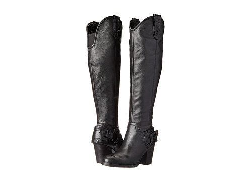 GUESS - Tabard (Black Leather) Women's Dress Zip Boots