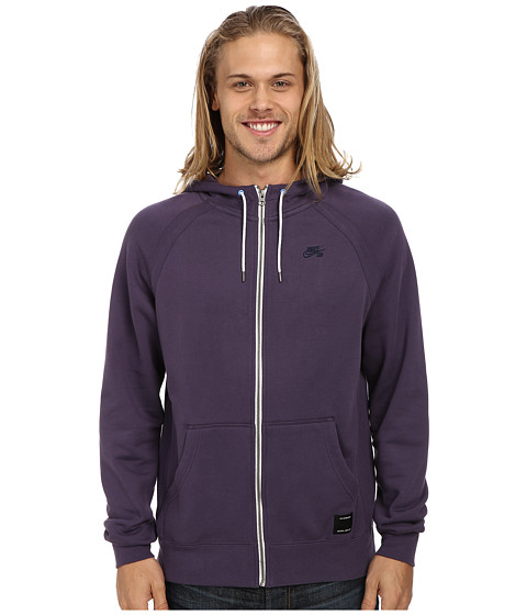 Nike SB - SB Northrup Icon Full-Zip Hoodie (Dark Raisin/Dark Raisin/Dark Raisin/Obsidian) Men