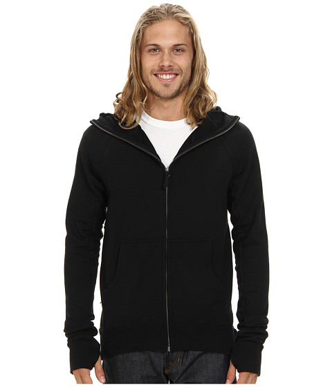 Nike SB - SB Everett Full-Zip Scuba Hoodie (Black) Men