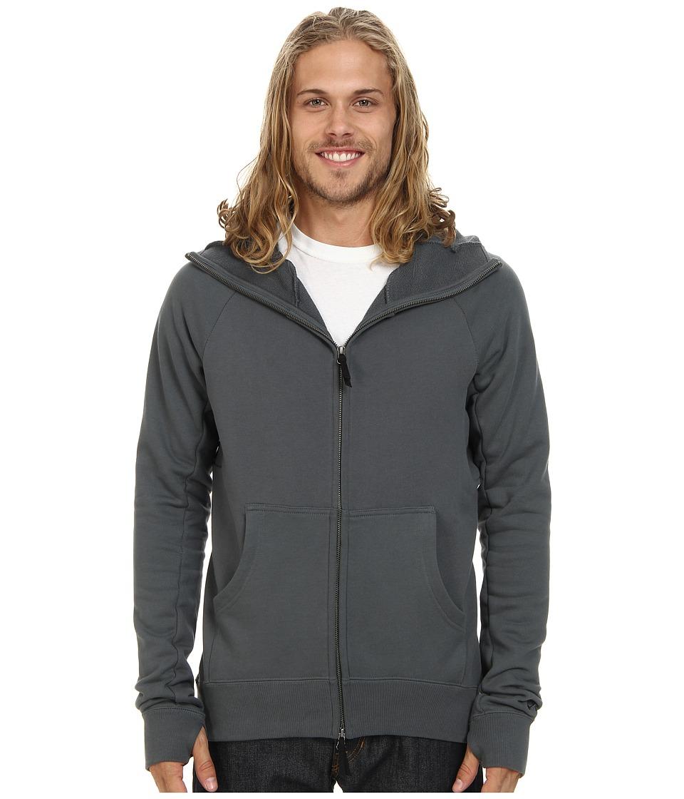 Nike SB - SB Everett Full-Zip Scuba Hoodie (Bomber Grey) Men's Sweatshirt