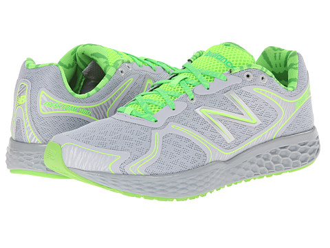 New Balance - M980 (Grey/Green) Men's Running Shoes