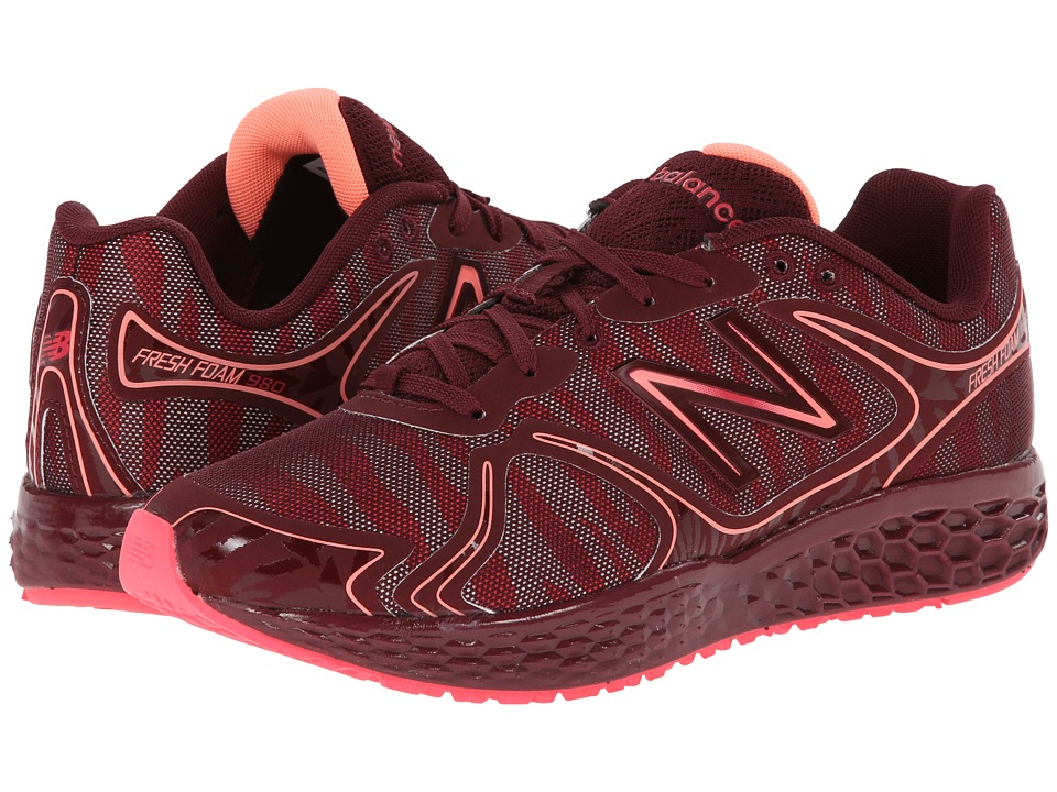 New Balance - W980 (Pink) Women's Running Shoes