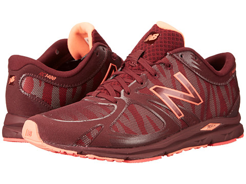 New Balance - W1400 (Maroon) Women's Running Shoes