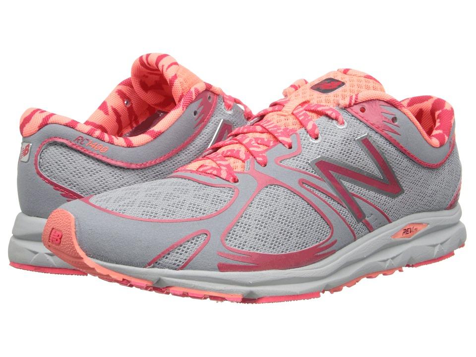 New Balance - W1400 (Silver/Orange) Women's Running Shoes