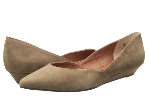 Seychelles - Skip A Beat (Taupe Suede) Women's Flat Shoes