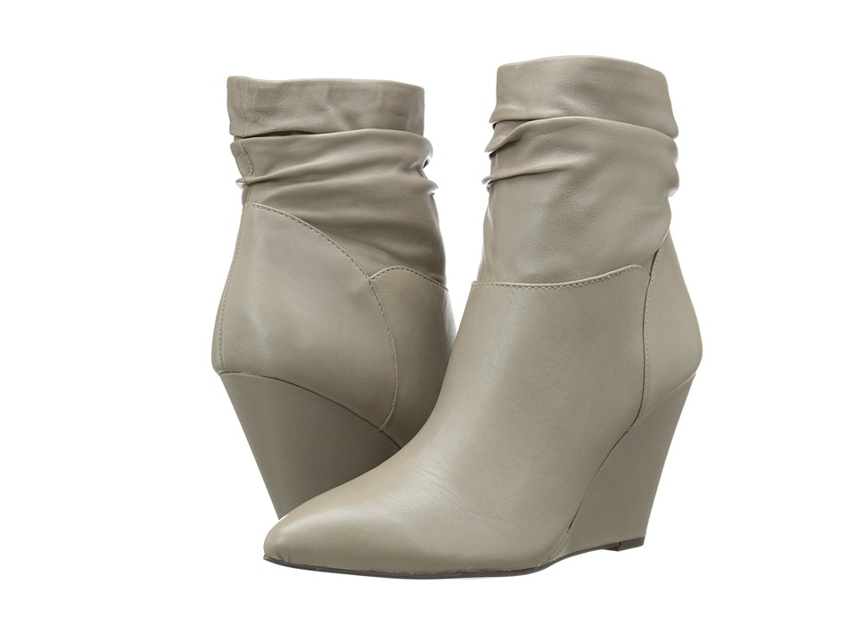 Seychelles - Set in Stone (Light Grey) Women's Pull-on Boots