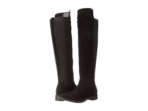Seychelles - Abroad (Black Suede) Women's Pull-on Boots