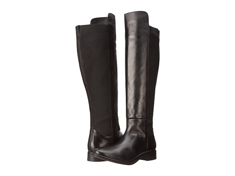 Seychelles - Abroad (Black Leather) Women's Pull-on Boots