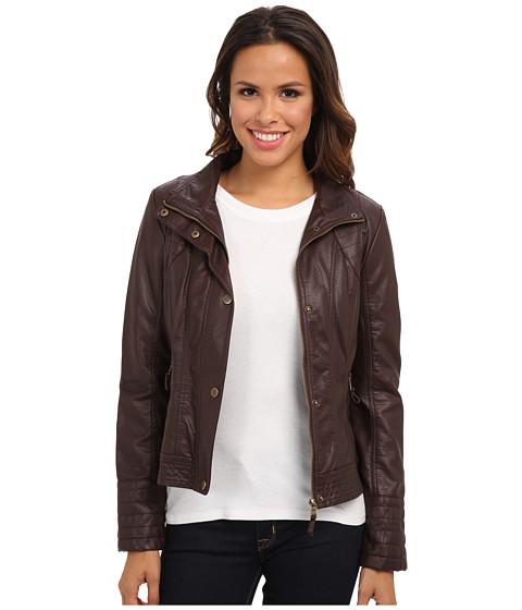 Jessica Simpson - JOFMU193 Jacket (Mahogany) Women's Jacket