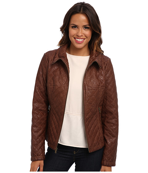 Jessica Simpson - JOFMU528 Jacket (Walnut) Women's Jacket