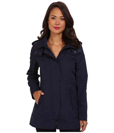 Jessica Simpson - JOFMP750 Coat (Navy) Women's Coat