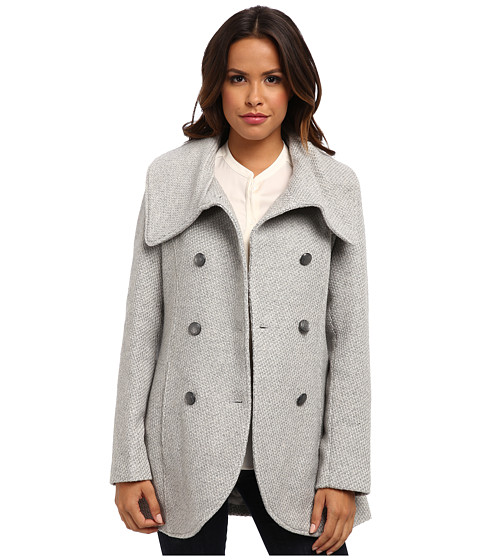 Jessica Simpson - JOFMH763 Coat (Grey) Women's Coat