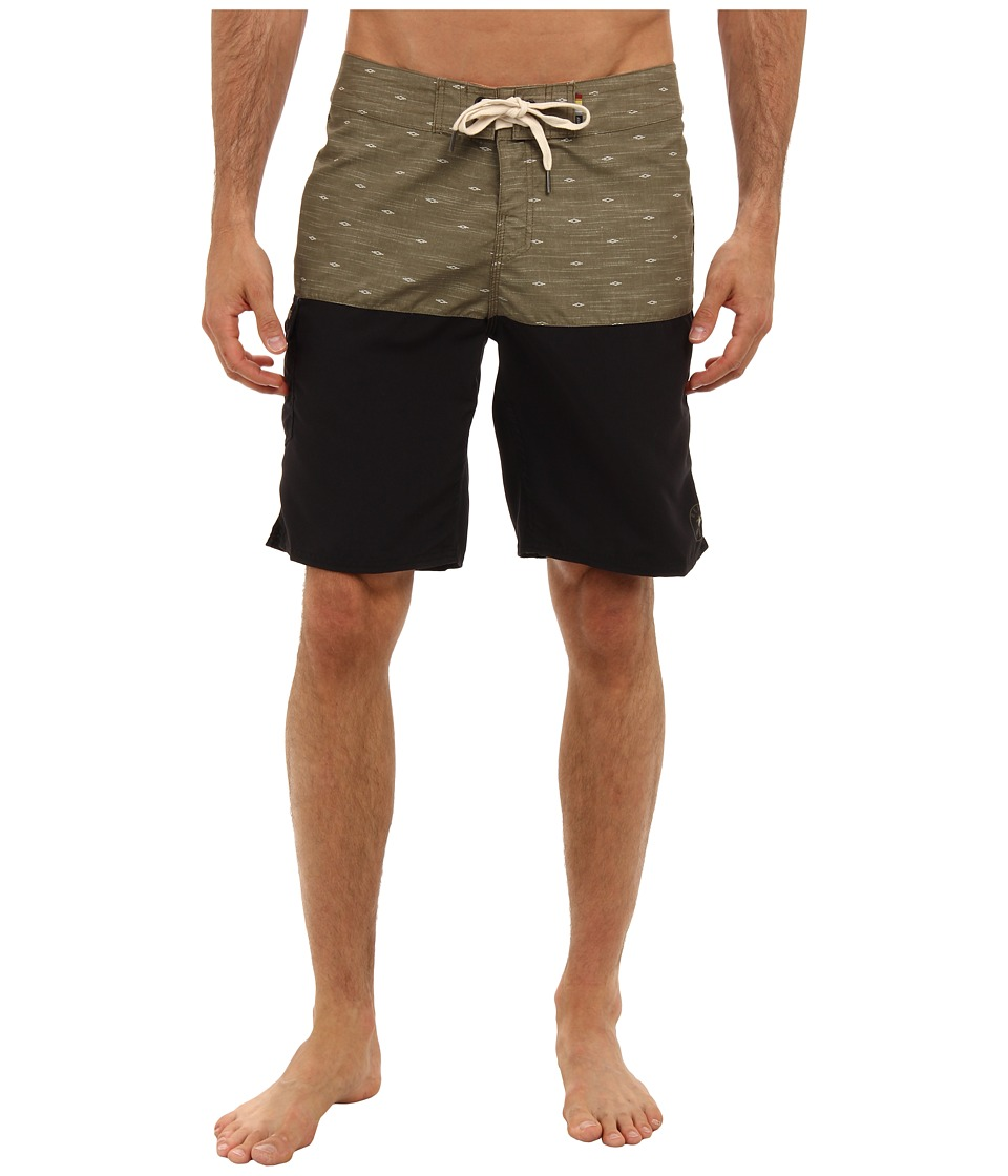 Reef - Reef Craft Boardshort (Olive) Men's Swimwear