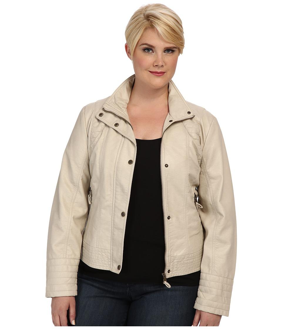 Jessica Simpson - Plus Size JOFWU193 Jacket (Stone) Women's Jacket