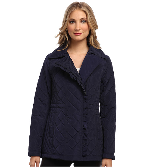 Jessica Simpson - JOFMP605 Coat (Navy) Women's Coat