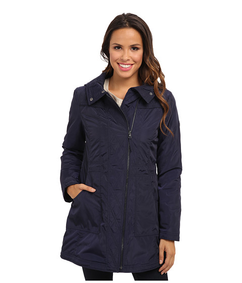 Jessica Simpson - JOFMP720 Coat (Navy) Women's Coat