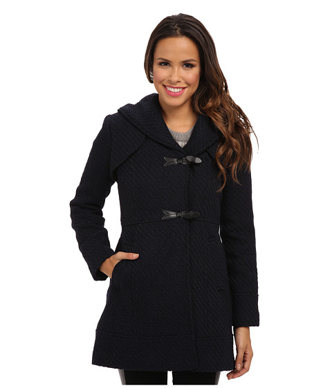 Jessica Simpson - JOFMH025 Coat (Navy) Women's Coat