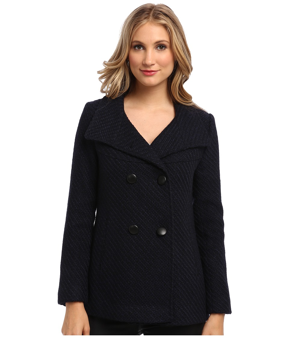 Jessica Simpson - JOFMH843 Coat (Navy) Women's Coat