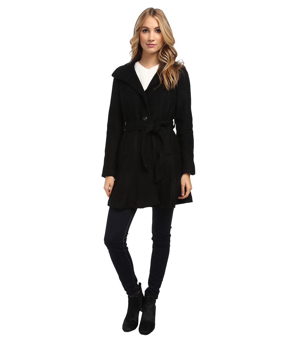 Jessica Simpson - JOFMH852 Coat (Black) Women's Coat